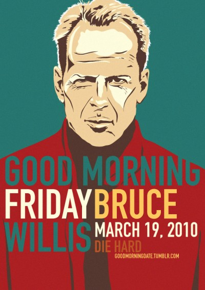 Bruce Willis, March 2010